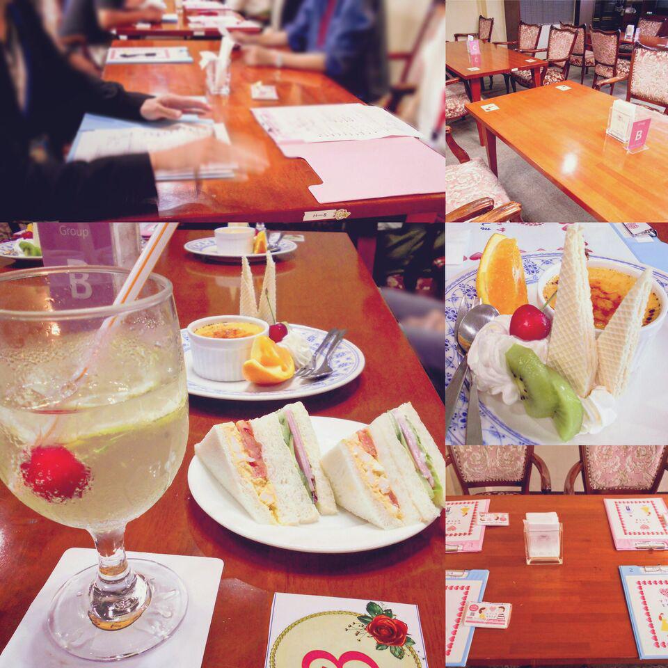 大人空間で素敵な婚活♥~美味しいスイーツを一緒に食べながら素敵な出逢いを~開催報告♥